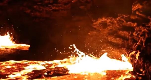 вулкан Эрта Але Эфиопия