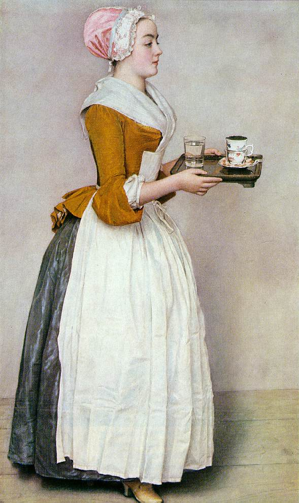 Шоколадница картина