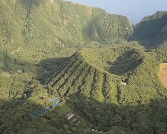 вулканический остров аогашима