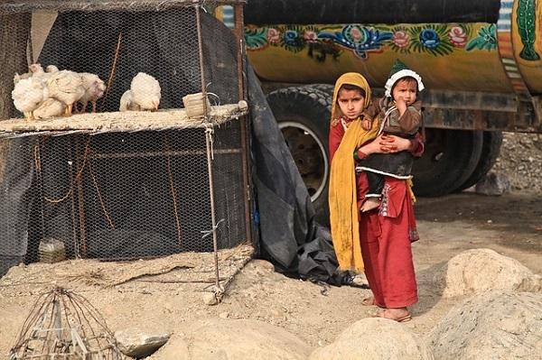 Афганистан девочка