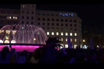 шоу фонтанов в Барселоне
