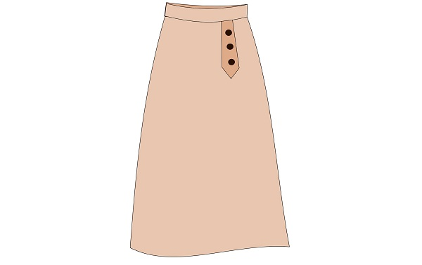 юбка колокол