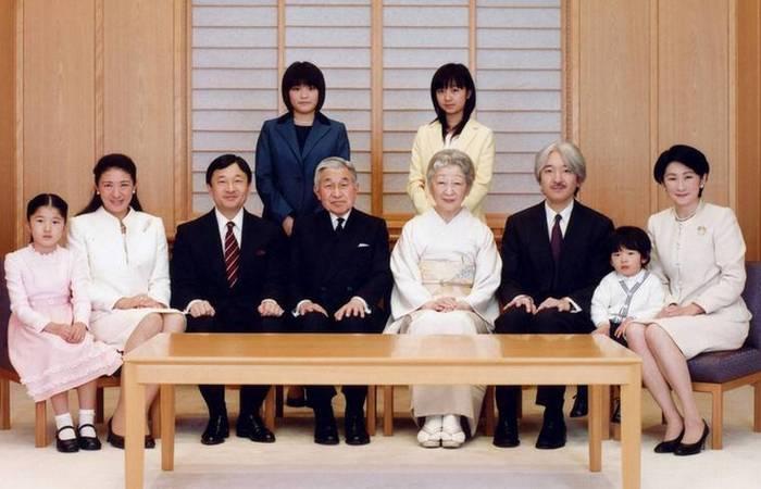семья Акихито