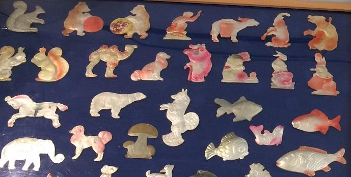 игрушки из картона Дрезденки