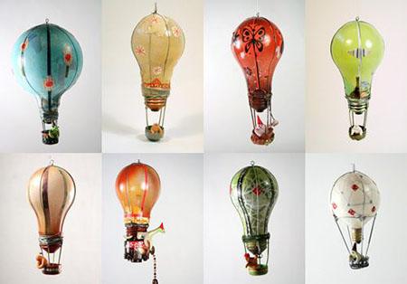 игрушки из лампочек накаливания