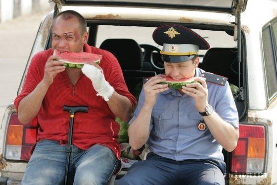 Аверин с Денисом Рожковым в Глухаре 2008