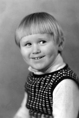 Максим Аверин в детстве