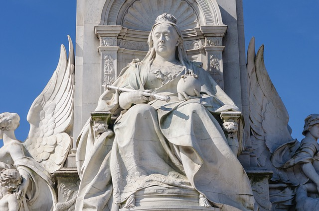 Королева Виктория Статуя, Лондон