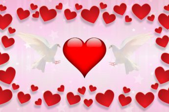 стихотворение про День святого Валентина