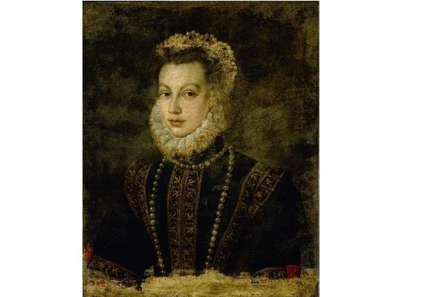Портрет королевы Елизаветы из Испании