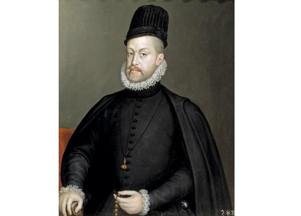 Портрет Филиппа II короля Испании