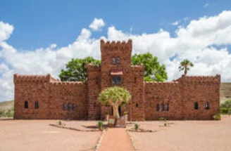 замок Дувисиб достопримечательность Намибии
