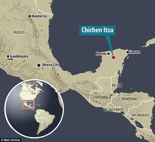 Майя на полуострове Юкатан в Юго-Восточной Мексике