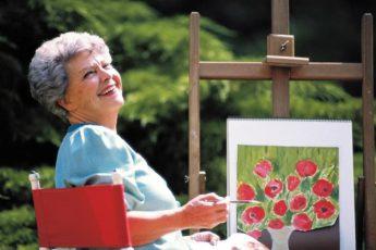 Энне Бурда рисует