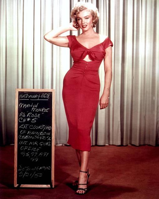 Мэрилин Монро американская кинозвезда