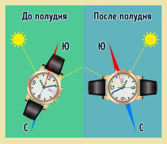 где юг часы
