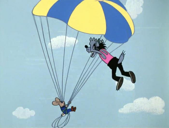 Собираем парашют для прыжков