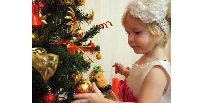Новогодняя елка папа